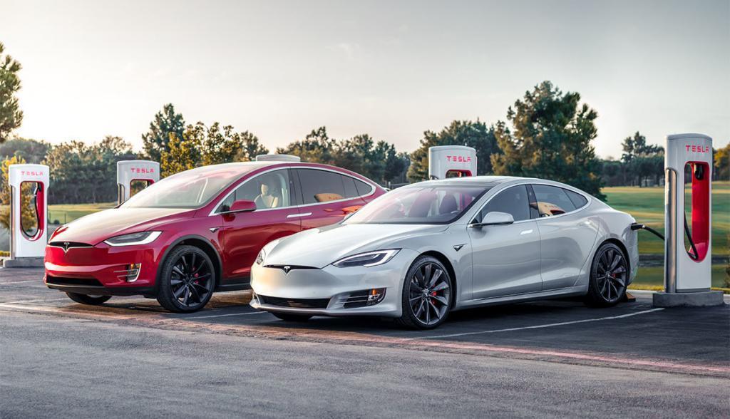 Tesla Model S und Model X - Supercharger